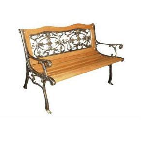 Conjunto de madeira para varanda