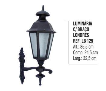 Luminária com Braço Londres