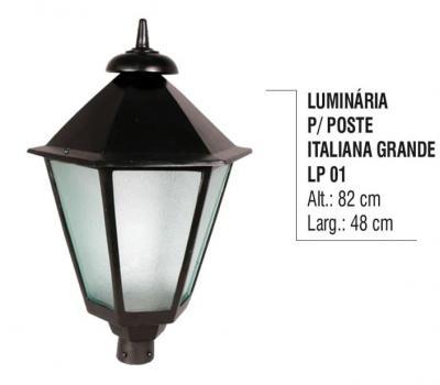 Luminárias para Postes