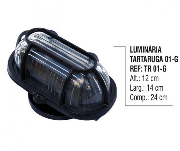 Luminária Tartaruga 01 - G