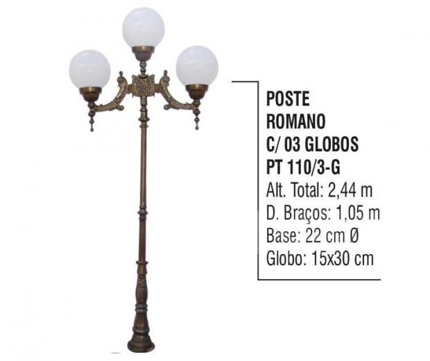 Postes Romano Com 03 Globos