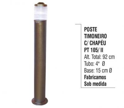Postes Alumínio Fundido e Tubo