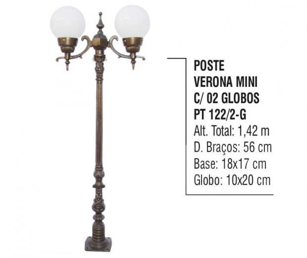 Postes Verona Mini com 02 Globos